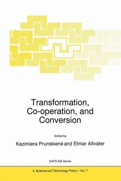 Transformation, Co-operation, and Conversion - Prunskiene, Kazimiera (ed.) / Altvater, Elmar