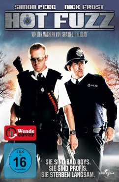 Hot Fuzz - Zwei abgewichste Profis - Simon Pegg,Nick Frost,Jim Broadbent