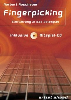 Fingerpicking, m. Audio-CD