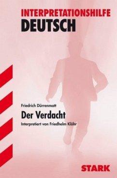 Friedrich Dürrenmatt 'Der Verdacht'
