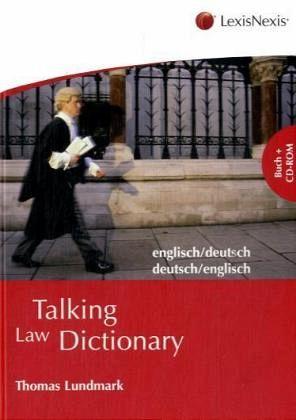 Talking law dictionary englisch deutsch deutsch englisch for Dictionary englisch deutsch