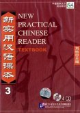 4 Audio-CDs zum Textbook / New Practical Chinese Reader Pt.3