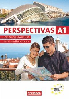 Perspectivas 1. Kurs-, Arbeits-, Vokabeltaschenbuch inkl. CDs (auténtica) - Amann-Marín, Sara; Forst, Gabriele; Vicente Álvarez, Araceli