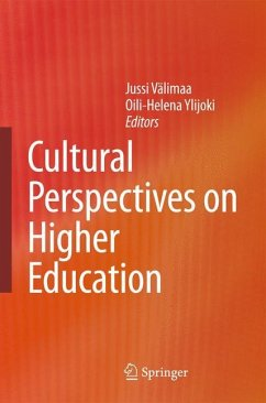 Cultural Perspectives on Higher Education - Välimaa, Jussi / Ylijoki, Oili-Helena (eds.)