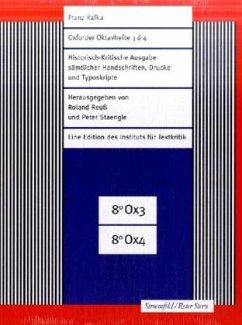Oxforder Oktavhefte 3 & 4 , 4 Tle. m. CD-ROM - Kafka, Franz
