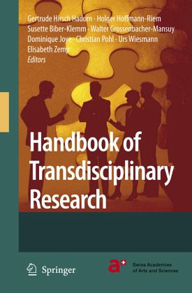 Handbook of transdisciplinary research von gertrude hirsch for Christian klemm