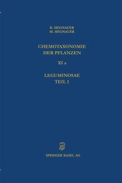 Chemotaxonomie der Pflanzen - Hegnauer, Robert