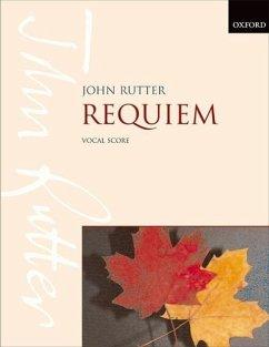 Requiem, für Sopran, gemischten Chor und kleines Orchester, Chorpartitur