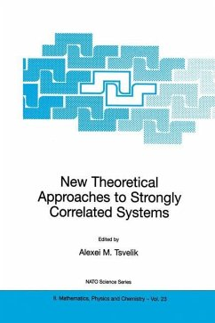 New Theoretical Approaches to Strongly Correlated Systems - Tsvelik