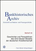 Geschichte und Perspektiven des Drei-Säulen-Modells der deutschen Kreditwirtschaft
