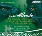 Die Stadt der wilden Götter\Im Reich des goldenen Drachen\Im Bann der Masken, 24 Audio-CDs