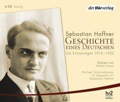 Geschichte eines Deutschen, Audio-CDs - Haffner, Sebastian
