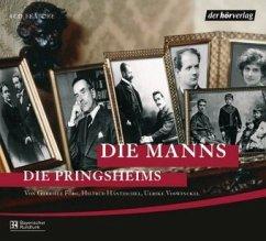 Die Manns. Die Pringsheims, 4 Audio-CDs - Förg, Gabriele; Voswinckel, Ulrike; Häntzschel, Hiltrud