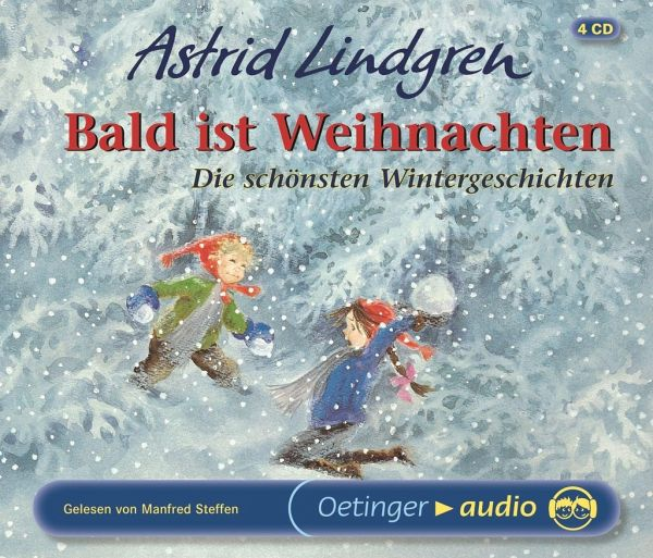 bald ist weihnachten 4 audio cds von astrid lindgren. Black Bedroom Furniture Sets. Home Design Ideas