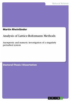 Analysis of Lattice-Boltzmann Methods