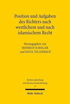 Position und Aufgaben des Richters nach westlichem und nach islamischem Recht