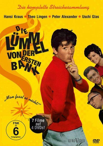 Die Lümmel von der ersten Bank (4 DVDs) - Kraus,Hansi/Lingen,Theo