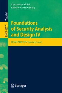 Foundations of Security Analysis and Design IV