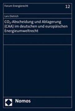 CO2-Abscheidung und Ablagerung (CAA) im deutsch...