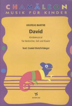 David, für Kinderchor, Soli und Klavier, Partitur