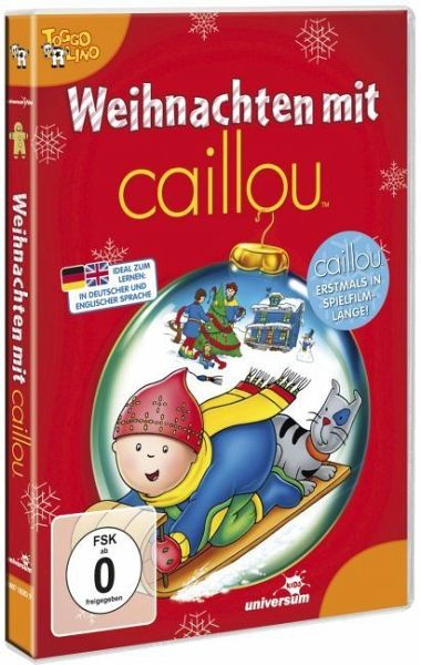 caillou weihnachten mit caillou film auf dvd. Black Bedroom Furniture Sets. Home Design Ideas