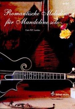 Romantische Melodien für Mandoline solo