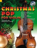 Christmas Pop for Violin, m. Audio-CD