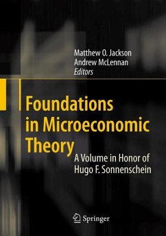 Foundations in Microeconomic Theory - Jackson, Matthew O. / McLennan, Andrew (eds.)