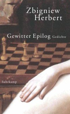 Gewitter Epilog - Herbert, Zbigniew