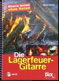 Die Lagerfeuer-Gitarre, m. Audio-CD
