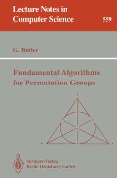 Fundamental Algorithms for Permutation Groups - Butler, Gregory