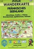 Fritsch Karte - Fränkisches Seenland