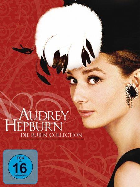 audrey hepburn die rubin collection 5 dvds auf dvd portofrei bei b. Black Bedroom Furniture Sets. Home Design Ideas