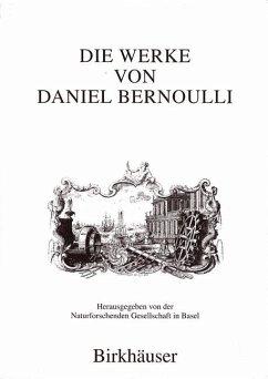 Die Werke von Daniel Bernoulli