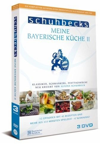 Schuhbecks Meine bayerische Küche II - 3 DVD-Set: Klassiker, Schmankerl,  Festtagsküche