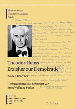 Erzieher zur Demokratie. Briefe (1945-1949) - Erzieher zur Demokratie