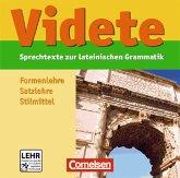 Videte. Lateinische Grammatik: lernen - üben - verstehen CD