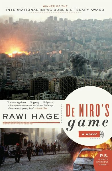 theft and violence in de niros game a novel by rawi hage Guns and tender cotton: feminized states in rawi hage  of rawi hage's de niro's game  rawi hage's de niro's game (2006), bassam, the novel's.