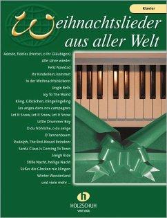 Weihnachtslieder aus aller Welt, für Klavier