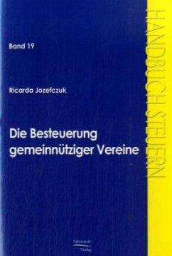 Die Besteuerung gemeinnütziger Vereine - Józefczuk, Ricarda