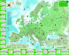 GEOlino Europakarte, Plano