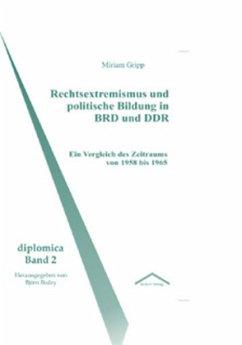 Rechtsextremismus und politische Bildung in BRD und DDR - Gripp, Miriam