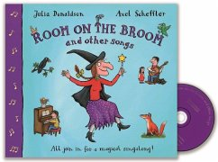 Room On the Broom And Other Songs, w. Audio-CD