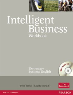 Intelligent Business Elementary Workbook (with Audio CD) - Barrall, Irene; Barrall, Nik