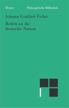 Reden an die deutsche Nation - Fichte, Johann Gottlieb