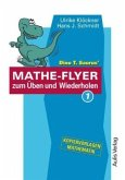 Dino T. Saurus' Mathe-Flyer zum Üben und Wiederholen 1