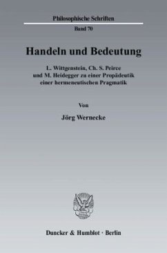 Handeln und Bedeutung - Seneca Wernecke, Jörg