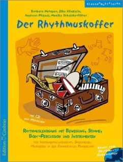 Der Rhythmuskoffer, m. Audio-CD
