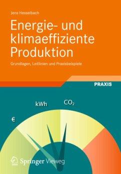 Energie- und klimaeffiziente Produktionsprozesse - Hesselbach, Jens