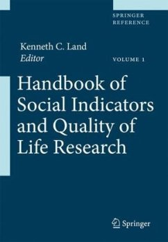 Handbook of Social Indicators and Quality of Life Research, CD-ROM